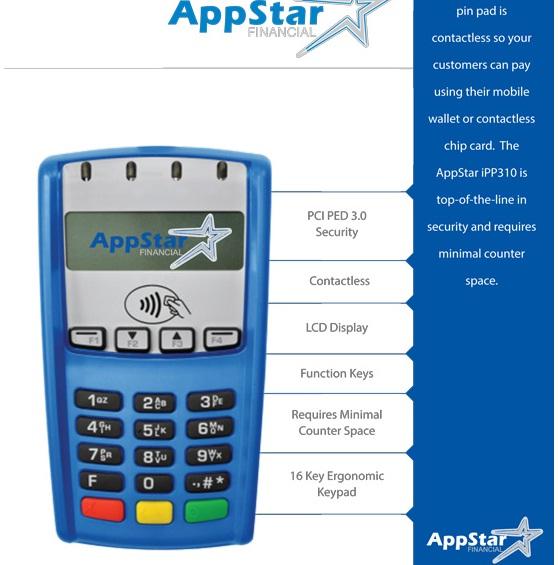 Appstar - Pin Pad